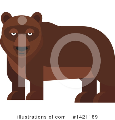 Bear Clipart #1421189 by Vector Tradition SM