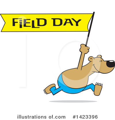 Field Day Clipart #1423396 by Johnny Sajem