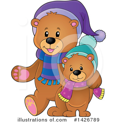 Bear Clipart #1426789 by visekart