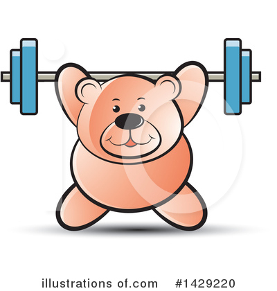 Weightlifting Clipart #1429220 by Lal Perera