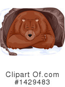 Royalty-Free (RF) Bear Clipart Illustration #1429483