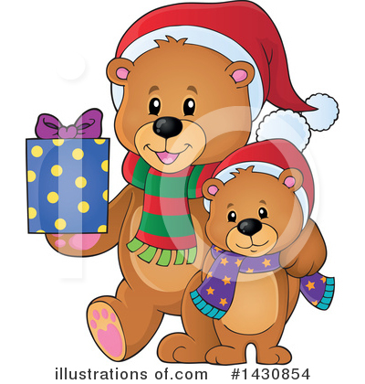 Christmas Gift Clipart #1430854 by visekart