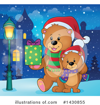 Bear Clipart #1430855 by visekart