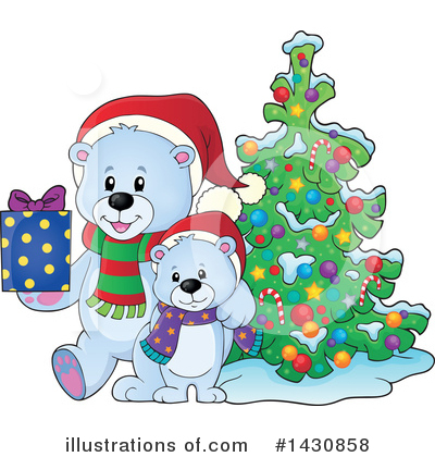 Bear Clipart #1430858 by visekart