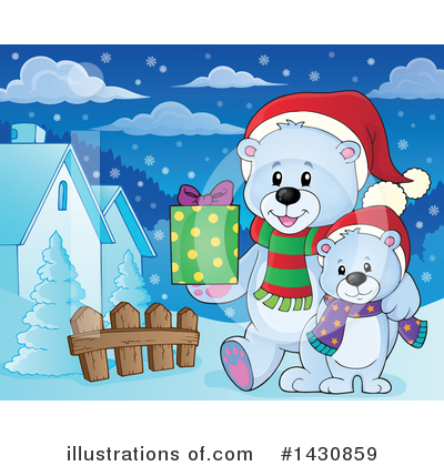 Christmas Gift Clipart #1430859 by visekart