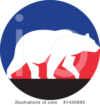 Bear Clipart #1430890 by patrimonio