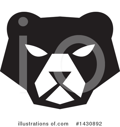 Bear Clipart #1430892 by patrimonio