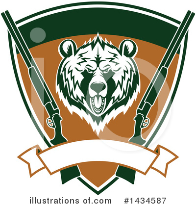 Bear Clipart #1434587 by Vector Tradition SM