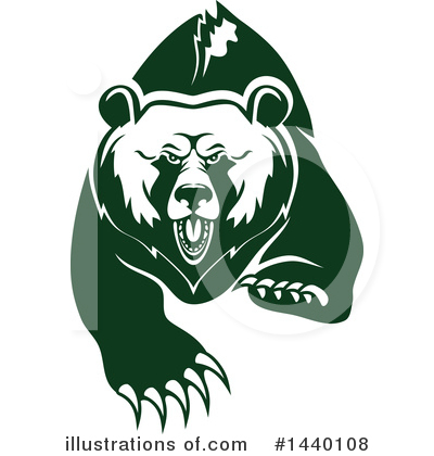 Bear Clipart #1440108 by Vector Tradition SM