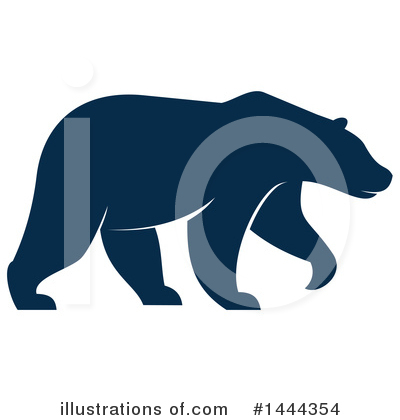 Bear Clipart #1444354 by Vector Tradition SM