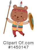 Royalty-Free (RF) Bear Clipart Illustration #1450147