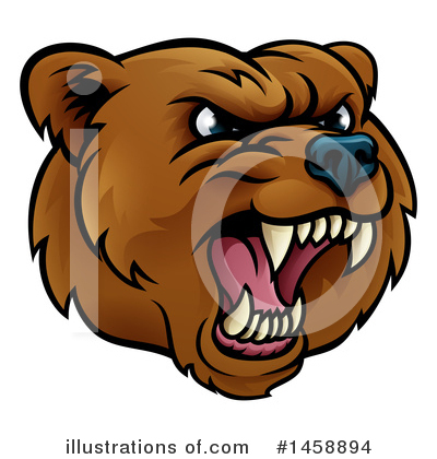 Bear Clipart #1458894 by AtStockIllustration