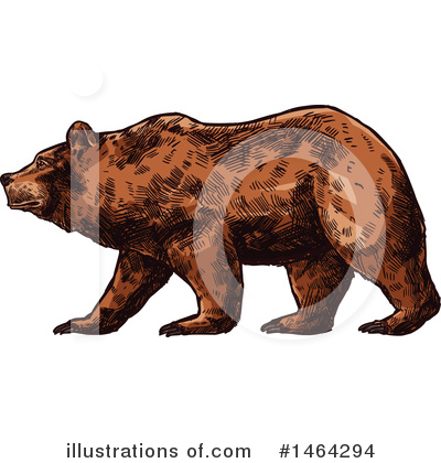 Bear Clipart #1464294 by Vector Tradition SM