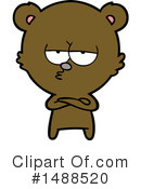 Bear Clipart #1488520 by lineartestpilot