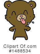 Bear Clipart #1488534 by lineartestpilot