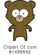 Bear Clipart #1488562 by lineartestpilot