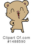 Bear Clipart #1488590 by lineartestpilot