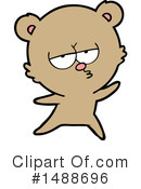 Bear Clipart #1488696 by lineartestpilot