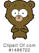 Bear Clipart #1488722 by lineartestpilot