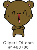 Bear Clipart #1488786 by lineartestpilot