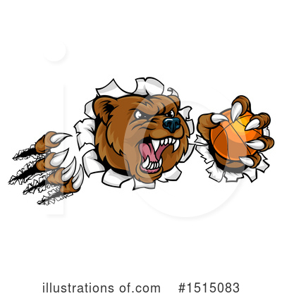 Bear Clipart #1515083 by AtStockIllustration
