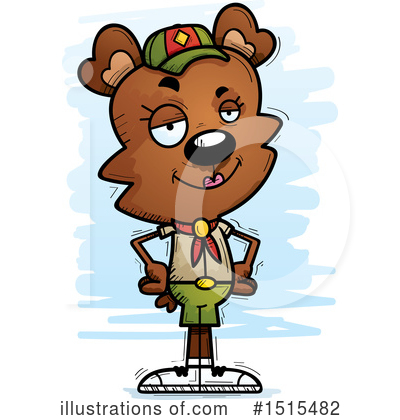 Bear Clipart #1515482 by Cory Thoman