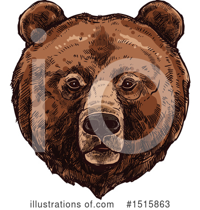 Bear Clipart #1515863 by Vector Tradition SM