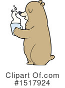 Bear Clipart #1517924 by lineartestpilot