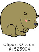 Bear Clipart #1525904 by lineartestpilot