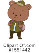 Bear Clipart #1551442 by BNP Design Studio