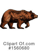 Bear Clipart #1560680 by Vector Tradition SM