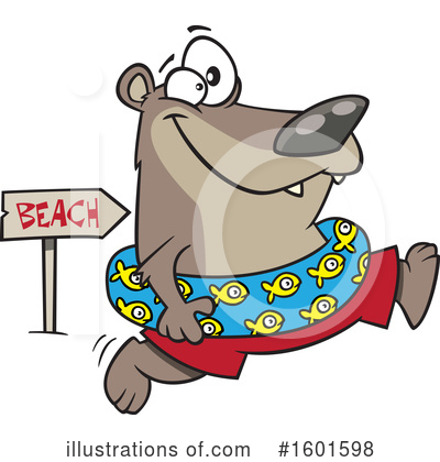 Bear Clipart #1601598 by toonaday