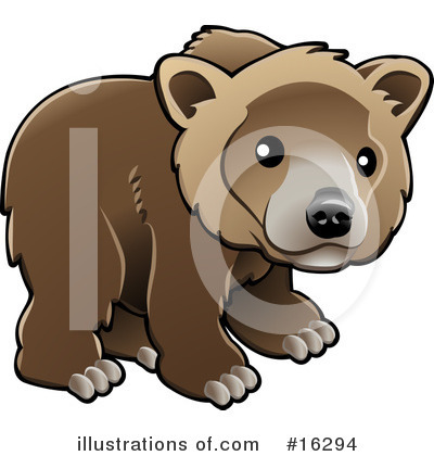 Bear Clipart #16294 by AtStockIllustration