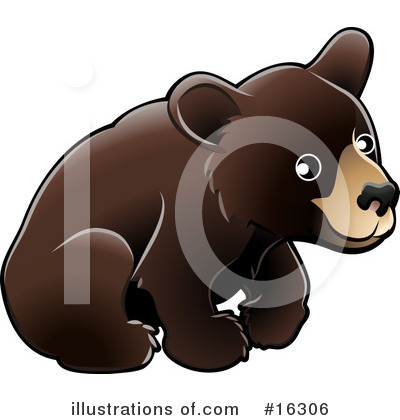 Bear Clipart #16306 by AtStockIllustration