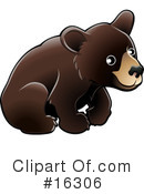 Royalty-Free (RF) bear Clipart Illustration #16306