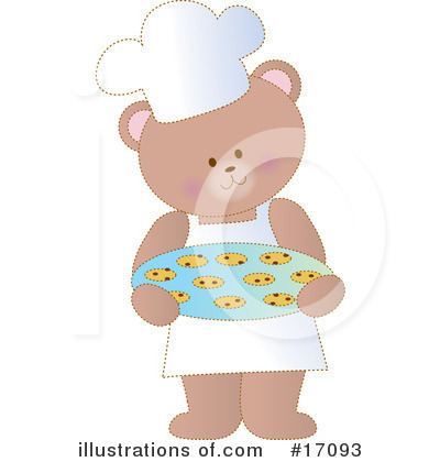 Royalty-Free (RF) Bear Clipart Illustration by Maria Bell - Stock Sample #17093