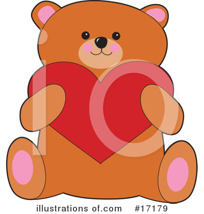Teddy Bear Clipart #17179 by Maria Bell