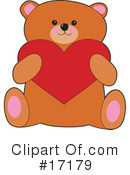 Royalty-Free (RF) Bear Clipart Illustration #17179