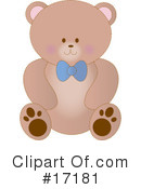 Royalty-Free (RF) Bear Clipart Illustration #17181