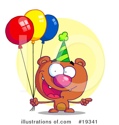 Balloons Clipart #19341 by Hit Toon