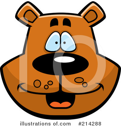 Bear Clipart #214288 by Cory Thoman