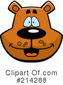 Royalty-Free (RF) Bear Clipart Illustration #214288