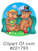 Royalty-Free (RF) Bear Clipart Illustration #221793
