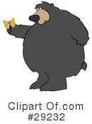 Royalty-Free (RF) Bear Clipart Illustration #29232