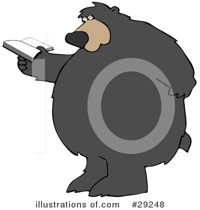 Royalty-Free (RF) Bear Clipart Illustration by Dennis Cox - Stock Sample #29248
