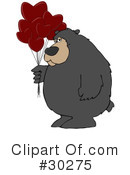 Royalty-Free (RF) Bear Clipart Illustration #30275