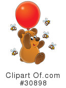 Royalty-Free (RF) Bear Clipart Illustration #30898