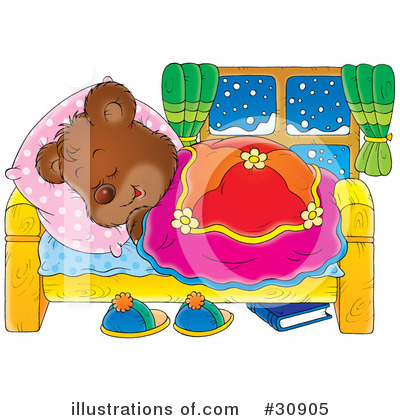 Royalty-Free (RF) Bear Clipart Illustration by Alex Bannykh - Stock Sample #30905