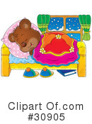 Royalty-Free (RF) bear Clipart Illustration #30905