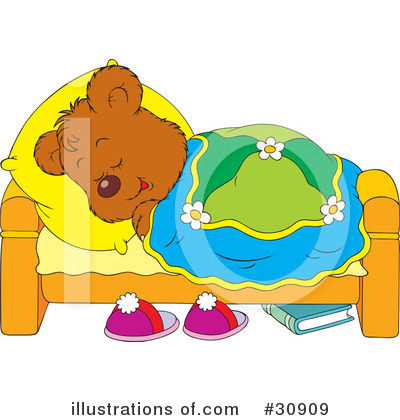 Royalty-Free (RF) Bear Clipart Illustration by Alex Bannykh - Stock Sample #30909